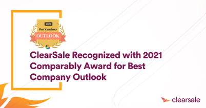 ClearSale Recognized with 2021 Comparably Award for Best Company Outlook