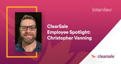 Employee Spotlight: Christopher Vanning