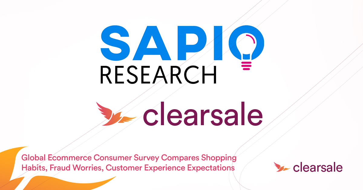 Global Ecommerce Consumer Survey Compares Shopping Habits, Fraud Worries, Customer Experience Expectations