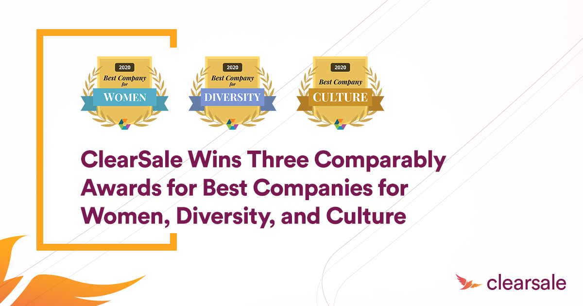 ClearSale Wins Three Comparably Awards for Best Companies for Women, Diversity, and Culture