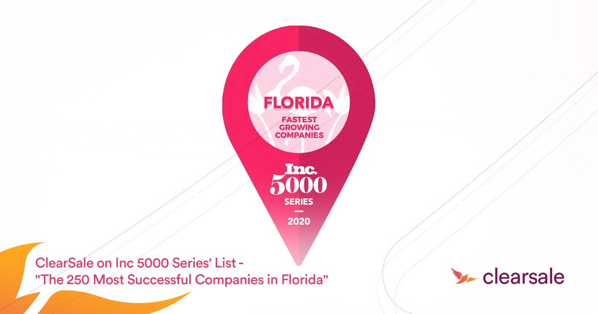 ClearSale Ranks on Florida's Fastest-Growing Private Companies