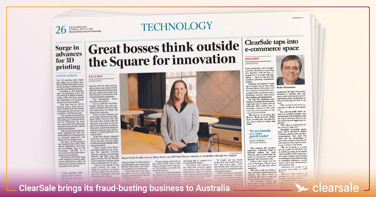 ClearSale brings its fraud-busting business to Australia