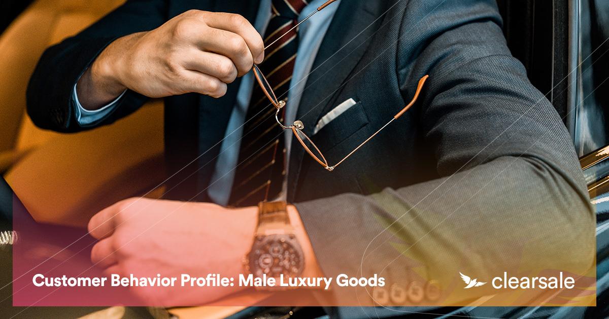 Customer Behavior Profile: Male Luxury Goods
