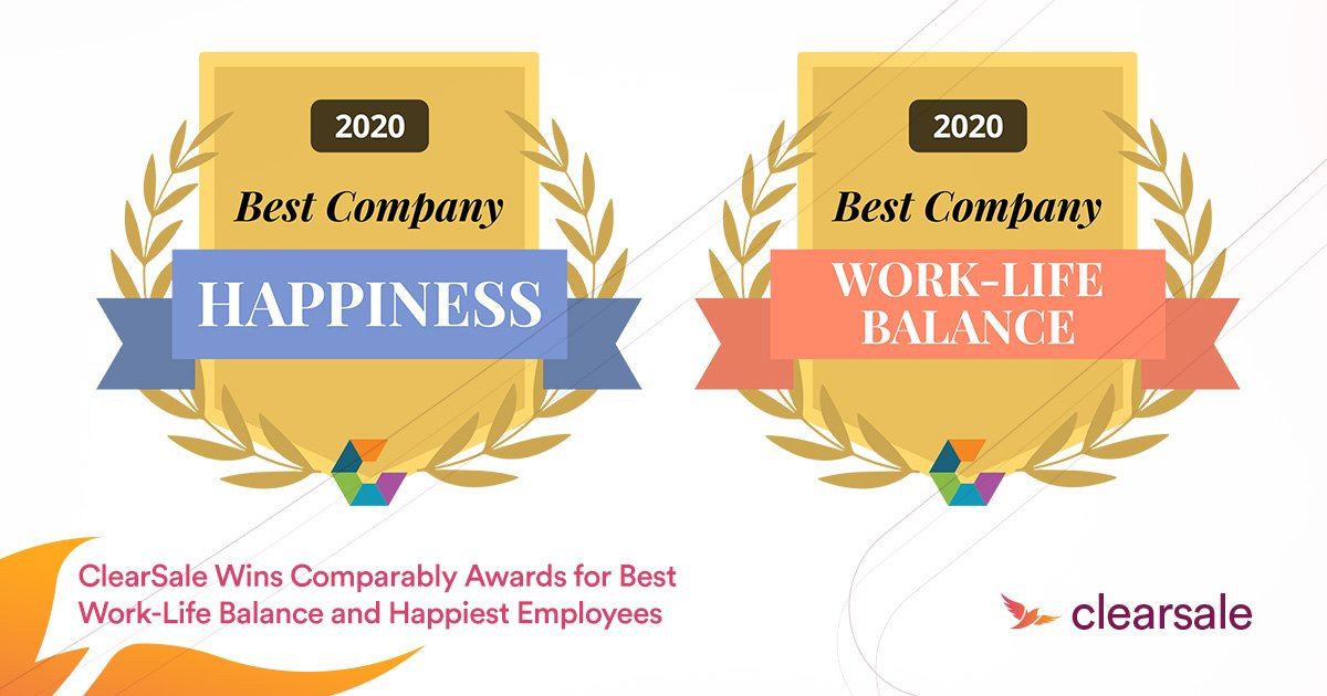 ClearSale Wins Comparably Awards for Best Work-Life Balance and Happiest Employees_Blog-3