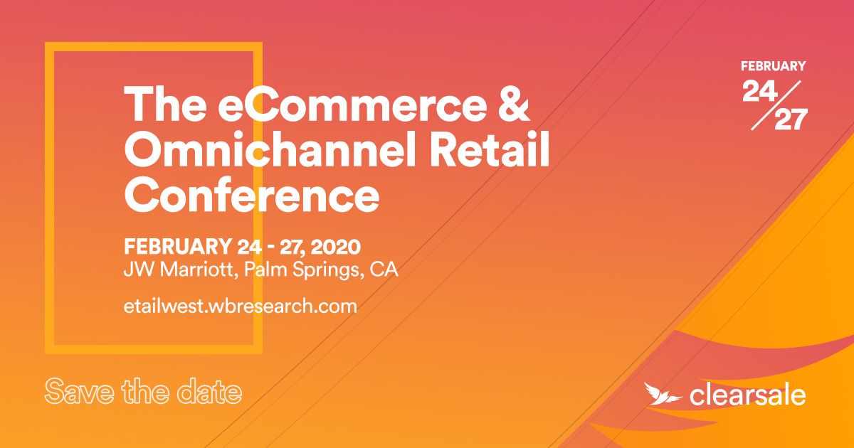 Save The Date - The eCommerce & Omnichannel Retail Conference_Wide