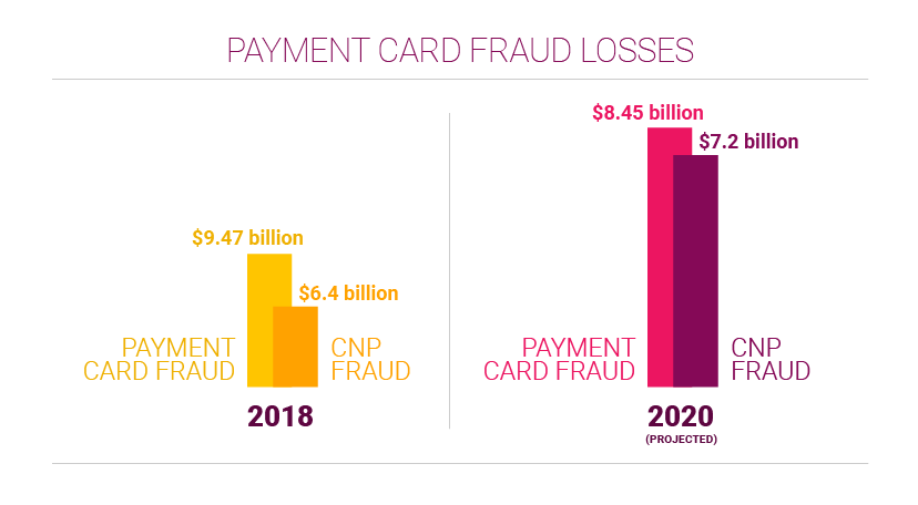 Payment card fraud losses