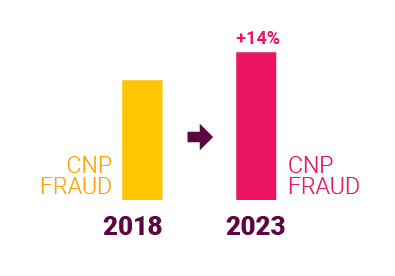 CNP fraud rise