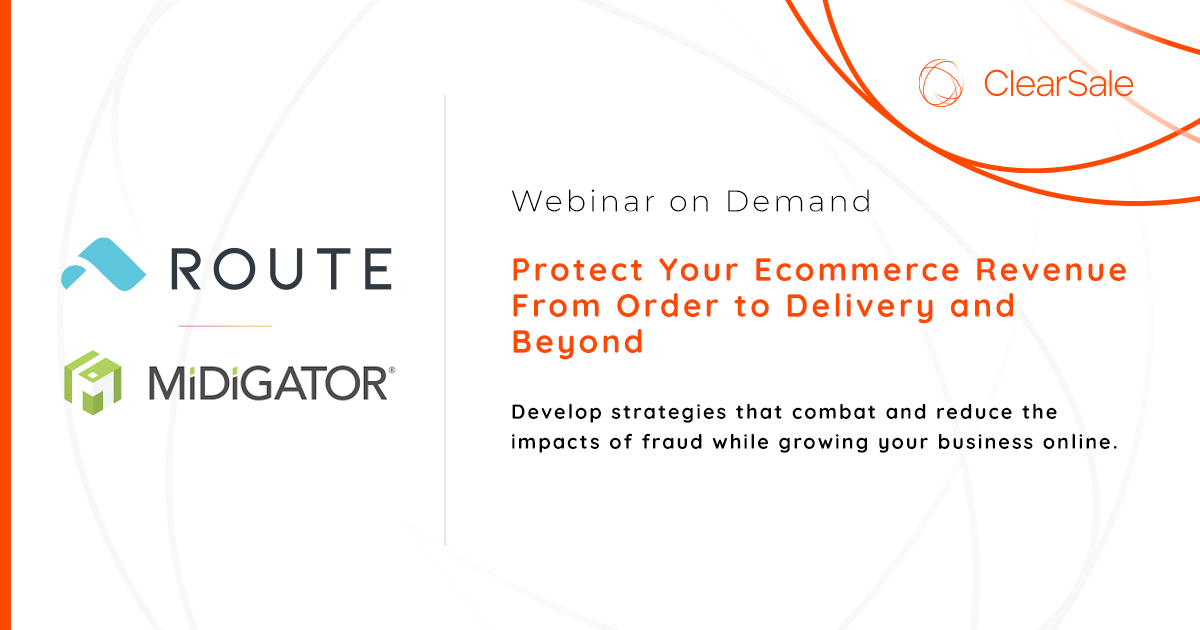 Protecting Your Ecommerce Revenue from Order to Delivery and Beyond