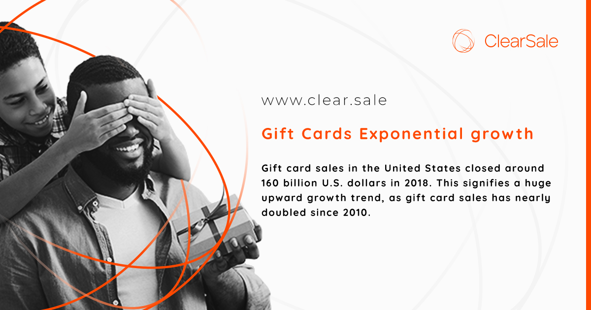Gift Cards Exponential growth